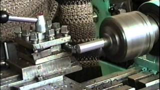 getlinkyoutube.com-TB-16(ТБ-16) lathe . Repaired and modernized