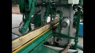 Wood-Mizer acacia sawline in Malaysia