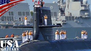 getlinkyoutube.com-自衛隊の「そうりゅう型」潜水艦がハワイ・真珠湾に寄港 - Japanese Sōryū Class Submarine at Pearl Harbor