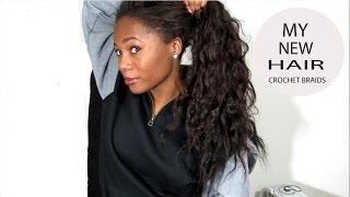 getlinkyoutube.com-New Hair: Crochet Braids with FreeTress Hair