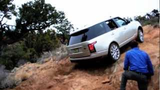 getlinkyoutube.com-2013 Range Rover Land Rover Off-road drive test
