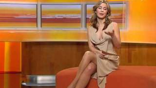 getlinkyoutube.com-Bettina Cramer in tan pantyhose & sandals
