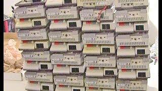getlinkyoutube.com-NES-101 Nintendo Top Loader - 36 console lot - initial testing