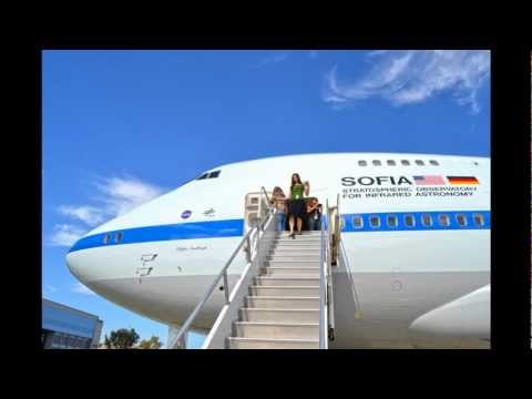 Touring around NASA's flying telescope, SOFIA(Stratospheric Observatory for Infrared Astronomy)