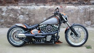 getlinkyoutube.com-For Sale Harley Davidson Breakout Softail Custom ( Nine Hills Motorcycles )