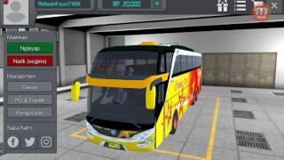 Bus Simulator Indonesia (BUSSID) - Review & Test Bus Shd Sempati Star