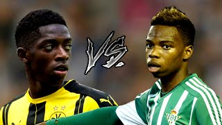 Charly Musonda Jr. Vs Ousmane Dembele - The Next Superstars   Skills & Goals 2016 HD