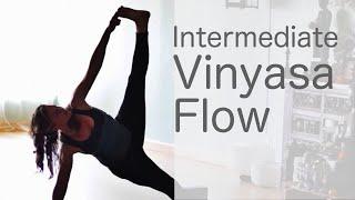 getlinkyoutube.com-Lululemon Ambassador Free yoga class (Intermediate Vinyasa Flow)  With Fightmaster Yoga