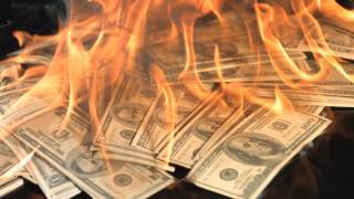 getlinkyoutube.com-Free Slow Motion Footage: Burning Money
