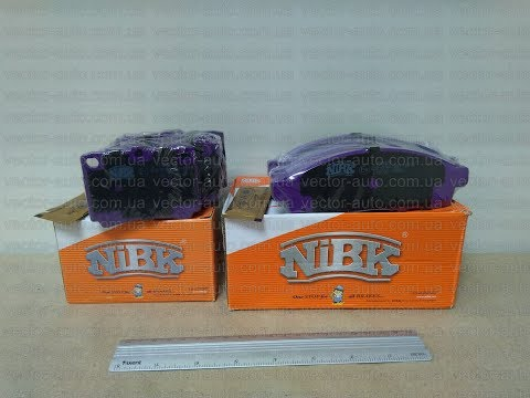 Комплект тормозных колодок (передние и задние: PN3809 и PN3391) MITSUBISHI Pajero / Sport Wagon NiBK