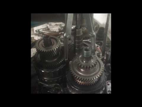 Разбор коробки хонда црв 3
