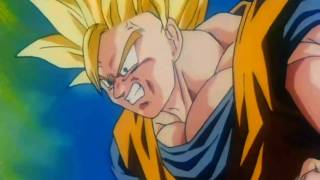 getlinkyoutube.com-Dragon Ball Z - Goku Turns Super Saiyan 3 for the First Time {1080p HD}