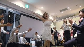 "getlinkyoutube.com-フラッシュモブ サプライズ 披露宴 「What Makes You Beautiful」 One Direction ""Ver2"" Flashmob"