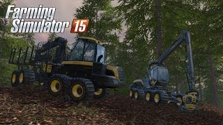 getlinkyoutube.com-Farming Simulator 15 - Gameplay #1: Forestry & Logging