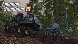 Farming Simulator 15 - Gameplay #1: Forestry & Logging