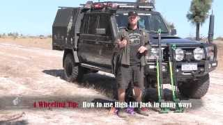 getlinkyoutube.com-High Lift Jack Recovery, off-road recovery