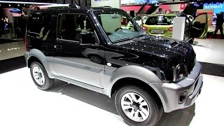 getlinkyoutube.com-2014 Suzuki Jimny 1.3 Compact Top 4x4 - Exterior, Interior Walkaround - 2014 Geneva Auto Show