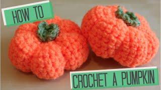 getlinkyoutube.com-CROCHET: How to crochet a Pumpkin | Bella Coco