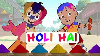 getlinkyoutube.com-Khelenge Hum Holi - Special Video with Chhota Bheem, Mighty Raju & Krishna Balram