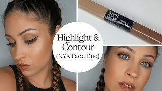 getlinkyoutube.com-Highlight & Contour (NYX Face Duo)