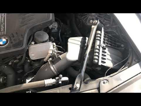 Замена воздушного фильтра БМВ f10