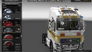 getlinkyoutube.com-[ETS2]Euro Truck Simulator 2 New Volvo FH16 Accessories + Interior v 3.1