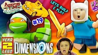 getlinkyoutube.com-ADVENTURE TIME w/ NINJA TURTLES! Land of Ooo Level (Let's Build & Play LEGO Dimensions YEAR 2 #19)