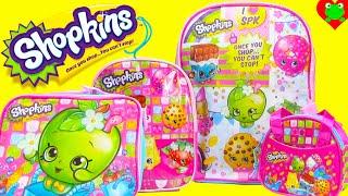 getlinkyoutube.com-Shopkins Backpack and Lunch Bag, Handbag, and Mini Backpack