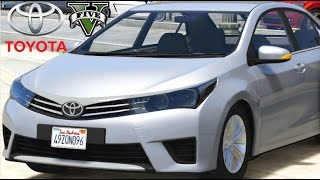 getlinkyoutube.com-GTA V - Fuga com Novo Toyota Corolla
