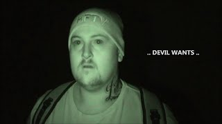 getlinkyoutube.com-Ghost Attacks Ghost Hunter Caught on Tape at Scary Haunted Church