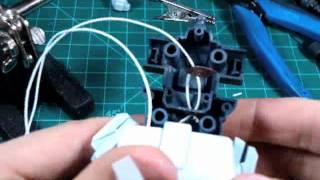 getlinkyoutube.com-How to put a LED into a Gundam par 3