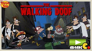 getlinkyoutube.com-Disney Phineas and Ferb: The Walking Doof Zombies Defense