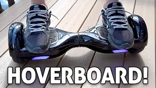 "getlinkyoutube.com-Self Balancing, 2-Wheel, Smart Electric Scooter, ""Hoverboard"" REVIEW"