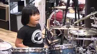 getlinkyoutube.com-Nối Vòng Tay Lớn - Drum Cover By Nguyễn Trọng Nhân - Rock Version