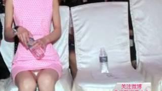 getlinkyoutube.com-赵丽颖粉红连衣裙甜美可爱 露出白色内裤尴尬走光