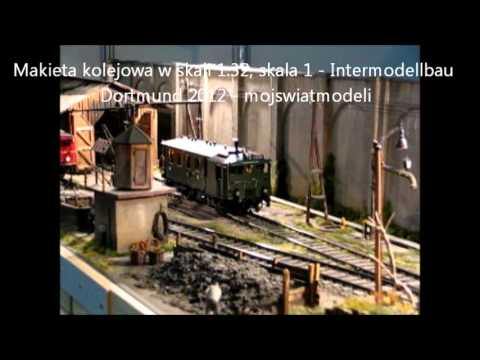 Modele kolejowe w skali 1, makiety kolejowe - Intermodellbau Dortmund 2012 - mojswiatmodeli
