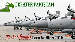 getlinkyoutube.com-JF-17 Thunder dazzling air display - Paris Air Show 2015