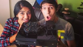 getlinkyoutube.com-UNBOXING XBOX ONE EDICIÓN DIA UNO EN ESPAÑOL | DAY ONE EDITION (KINECT, CONTROL y XBOX ONE