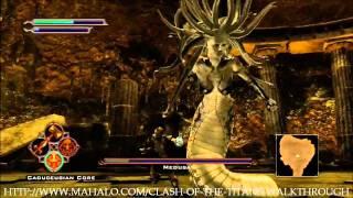 getlinkyoutube.com-Clash of the Titans Walkthrough - Quest 44: A Human's Strength - Part 5 - Boss Battle: Medusa Part 2