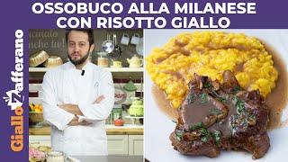 getlinkyoutube.com-OSSOBUCO ALLA MILANESE CON RISOTTO GIALLO di Alessandro Negrini