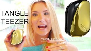 getlinkyoutube.com-TANGLE TEEZER FIRST IMPRESSIONS + 12 GIVEAWAYS FOR 2016 !!! | TheInsideOutBeauty.com by Heidi