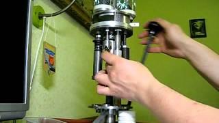 getlinkyoutube.com-Самодельный станок для изготовления патронов 12к