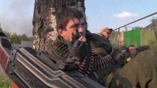 getlinkyoutube.com-Отряд Абхаза штурмует аэропорт ДНР. Запись боя. Редкие кадры.