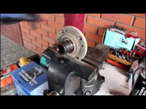 Замена подшипника передней ступицы Чери Амулет 2010 1,6  Chery Amulet A15