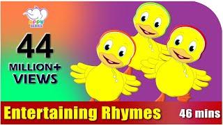 getlinkyoutube.com-Nursery Rhymes Vol 4 - Collection of Twenty Rhymes