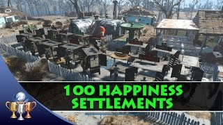 getlinkyoutube.com-Fallout 4 - How to Get 100 Happiness in a Large Settlement - Benevolent Leader  Trophy #Fallout4