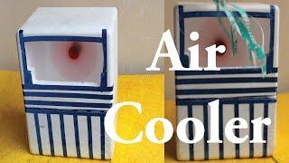 getlinkyoutube.com-How To Make Mini Air Cooler For Summer Easy Way