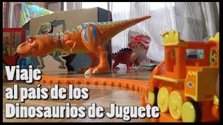 getlinkyoutube.com-Viaje al país de los Dinosaurios de juguete