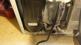 getlinkyoutube.com-Cleaning lint out of Whirlpool Kenmoor Gas and Electric Dryers