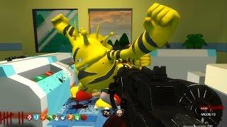getlinkyoutube.com-POKEMON ZOMBIES w/ GYM BATTLES!!! - CALL OF DUTY CUSTOM ZOMBIES GAMEPLAY! (WAW Zombies)